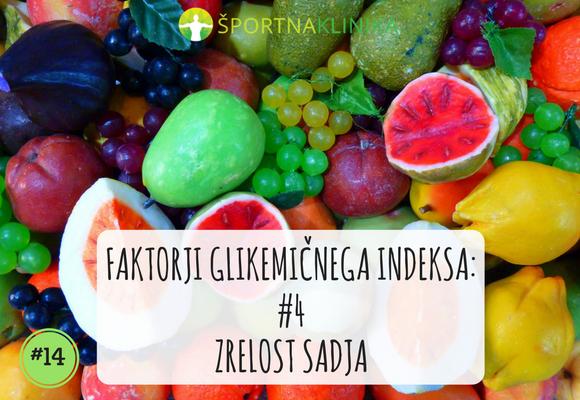 Zrelost sadja