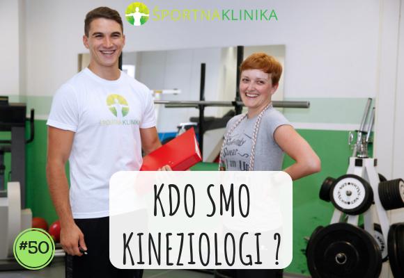 Kdo smo kineziologi?