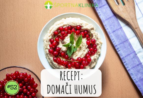Recept: Domači humus